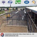 プレハブの建物または倉庫のための熱い販売の新しい材料の鉄骨構造