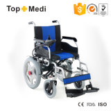 Prix bon marché médical diplômée par ce de nouveau produit pliant le fauteuil roulant d'énergie électrique