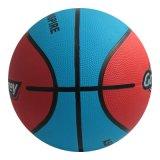 لون مزدوجة كرة سلّة مطّاطة في حجم 5