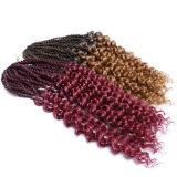 Extensão sintética Dreadlocks do cabelo de Ombre