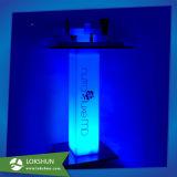 Carrinhos de indicadores cosméticos acrílicos bonitos do diodo emissor de luz