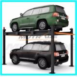 Idro-Park 2130 per Two Cars Hydraulic Motor Mechanical Four Post Parking System