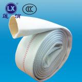 PVC piano intrecciato Pricesfabric del tubo di disposizione delle manichette antincendio tubo flessibile di giardino da 100 millimetri
