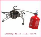 Stufa di gas di campeggio esterna ad alimentazione mista della stufa di gas della stufa