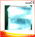 chaufferette en aluminium 120V 600W en caoutchouc de silicones de Thermoforming 600*600mm de plaque de 120V 600W 2mm