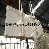 中国の雪の白い大理石のタイルの壁および床の純粋で白い大理石