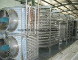 Le congélateur spiralé de la machine IQF de surgélateur fabrique