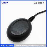 interruptor redondo preto do sensor do flutuador do regulador de nível de água de 3m (CX-M15-4)