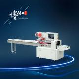 Machines d'empaquetage automatiques horizontales de machine à emballer de tissu de nettoyage
