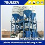 Planta de procesamiento por lotes por lotes concreta automática de la fábrica 180m3/H por completo