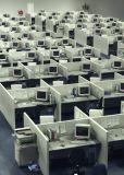 Telemarketing Cubicles appelé pour des meubles de bureau