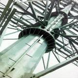 220kv Single Column Terminal Power Transmission Steel Tower