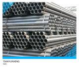 IMMERSION chaude Galv de norme ANSI. Pipes galvanisées sans joint en acier