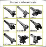 Grade E Cast Steel AAR Tipo de Certificação Wagon Paragon Coupler
