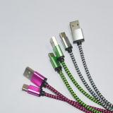 Taper C a tressé les deux le câble du côté HDMI USB 3.1