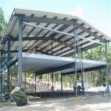 構築デザイン鉄骨構造の倉庫の小屋