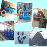 Überschüssiges Tyre Shredder/Tyre Recycling Plant/Used Tire Shredder Machine für Sale
