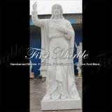 대리석 상 돌 동상 화강암 동상에 의하여 손 새겨지는 조각품 Metrix Carrara 동상 Ms 1014