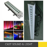 방수 12PCS*3W RGB Stage Wash Light LED Wall Washer