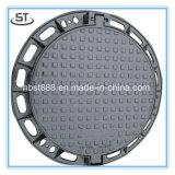 Couverture de trou d'homme ronde sanitaire de la qualité En124