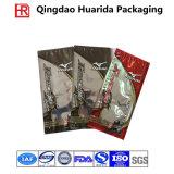 Heet verkoop de Transparante Plastic Zak van de Verpakking van het Kledingstuk met Ritssluiting