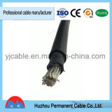 Cable solar flexible del cobre XLPE de la sola base