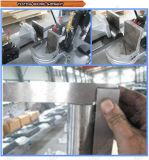 A faixa horizontal da estaca do metal da coluna do dobro da fonte da fábrica viu a máquina (GH4235)