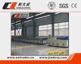 Linha de produção do perfil do PVC