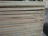 1 grau de madeira compensada de teca natural Meranti Core para a Índia (3,2 mm)