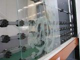 Máquina de cristal del chorreo de arena del control automático