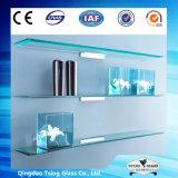 6 - 12mmの角の装飾的なガラス四分の一円の棚ガラス