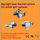 手段によって取付けられる二重センサーの機密保護の監視PTZ IPの上昇温暖気流のカメラ
