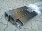 Pipe carrée soudée d'acier inoxydable d'ASTM-A554 CY