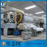 Cadena de producción de máquina del papel de tejido de tocador del rodillo enorme de la pequeña escala