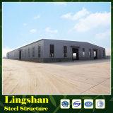 Gruppo di lavoro pre costruito pre fabbricato delle costruzioni della struttura d'acciaio