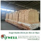 Mullite duro Bricks per Hot Air Pipes