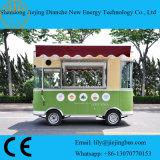 De gepatenteerde Elektrische Beweegbare Vrachtwagen van de Lunch voor Verkoop met 4 Stukken van de Batterij (Ce)