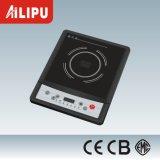 Fornello portatile di induzione di controllo di pulsante con il certificato di Ce/CB