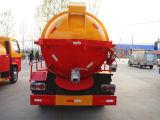 4X2 Vacuum Sewage Suction Truck für Sale