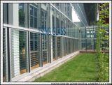 Auvent verre-verre d'auvent de 4-6mm pour la porte de construction de guichet