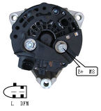 12V 90A Alternator voor Bosch Mercedes Benz Lester Alt10690 0124325098