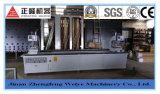 Soldadura do indicador do PVC com as quatro máquinas principais