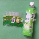 Ярлык Shrink любимчика PVC для бутылки напитка