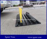 Protector de goma del cable, rampa del cable, rampa de goma del protector del cable de diverso diseño al aire libre