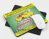 Almofada de rato impressa da almofada de rato do tamanho costume feito sob encomenda para anunciar presentes