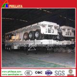 3 chassis Flatbed dos reboques do Semi-Trailer do recipiente de transporte dos eixos