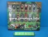 Förderung-Geschenk-stellte neues Metallplättchen-Auto-Spielzeug mit Tier ein (941602)
