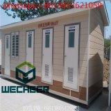 Washrooms públicos pré-fabricados do toalete móvel de três furos para a venda