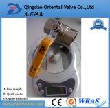 Шариковый клапан низкой цены латунный (с CE)