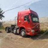중국 Sinotruk HOWO 6X2 336HP 무거운 트랙터 트럭